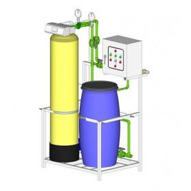 Lắp đặt hệ thống làm mềm nước Lò Hơi