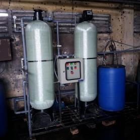 Hệ thống lọc thô và làm mềm nước cho Lò hơi